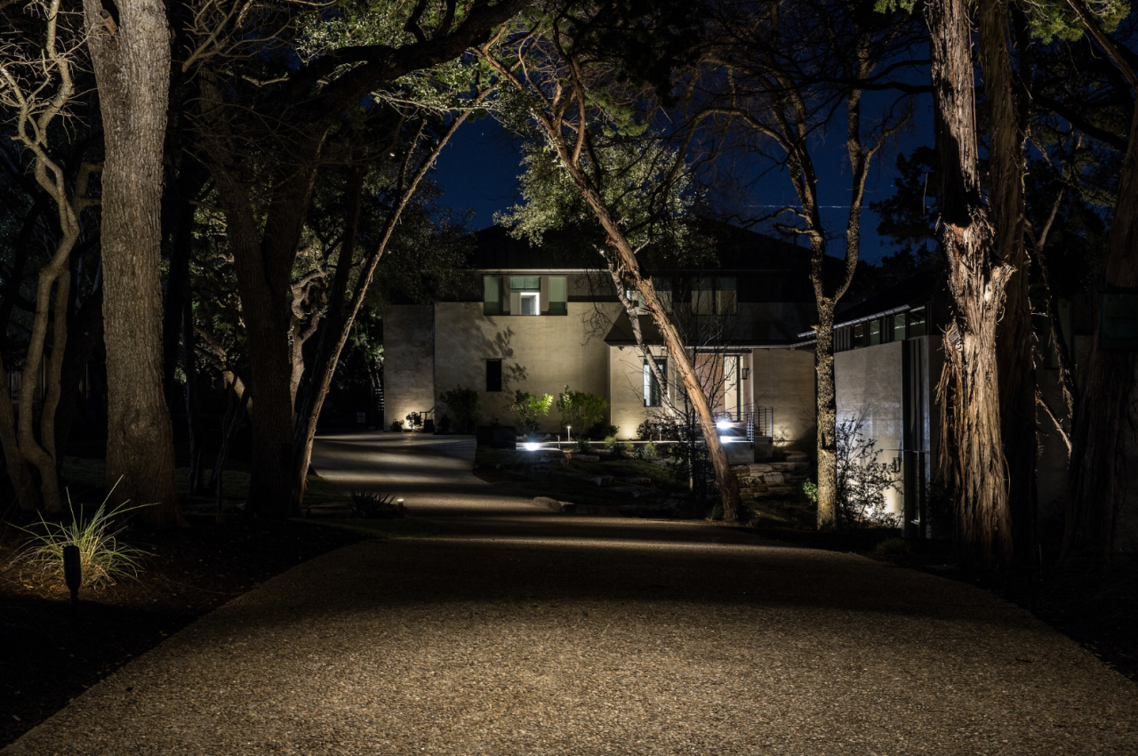Outdoor Lighting Design, Operability + Functionality